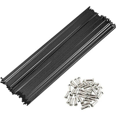 £9.86 • Buy 36 Pcs/set Stainless Steel Bicycle Spokes For Mountain Bike Road Bike 170-290 Mm