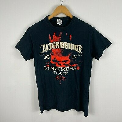 £13.64 • Buy Alter Bridge Fortress Tour 2014 T-Shirt Size Small Black Double Sided