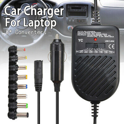 £7.71 • Buy  80W Universal Laptop Auto Car Charger Adapter 12V Fit For DELL HP TOSHIBA SONY
