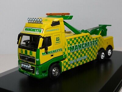£27.95 • Buy Oxford Diecast Volvo Fh Recovery Truck Manchetts Recovery 1/76 Vol08rec