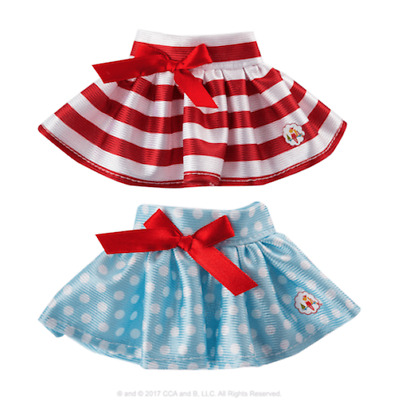 £6 • Buy ELF ON THE SHELF Claus Couture Collection® Twirling In The Snow Skirts NO BOX