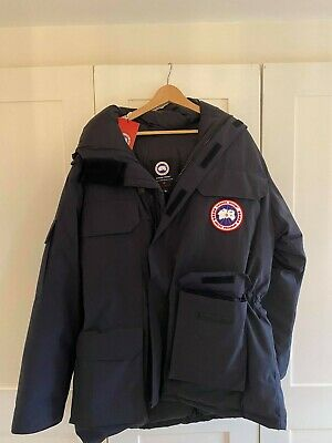 Men's Canada Goose Expedition Coat Navy Large *Brand New With Tag* • 152£