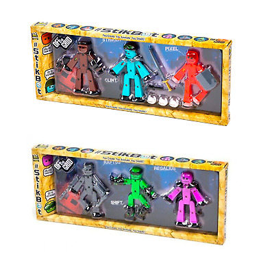 £10.99 • Buy Stikbot Off The Grid 3 Pack Action Figure Toy