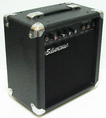 $ CDN49 • Buy Silvertone SMART III  Portable Guitar / Microphone Amplifier W. Speaker  Perfect