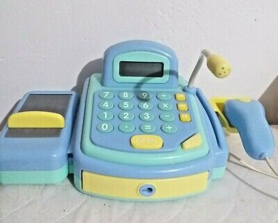 £12.99 • Buy Sainsbury's Toy Cash Register Electronic Till Pretend Payment Scanner Checkout