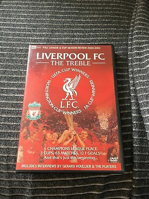£7.99 • Buy Liverpool Fc The Treble Dvd Itv Season Review 2000 2001 Excellent Condition