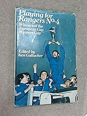 £12.81 • Buy Playing For Rangers Hardcover Ken Gallacher