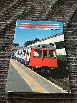 £5.99 • Buy London Underground Rolling Stock Railway Book 2002 Brian Hardy Great Cond 15th