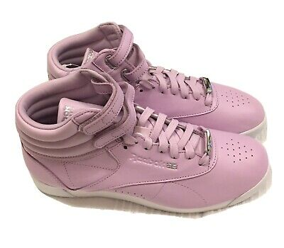 £39.80 • Buy Reebok Classics Womens Freestyle Hi Muted Trainers Size UK 5, Candy Pink RRP £79