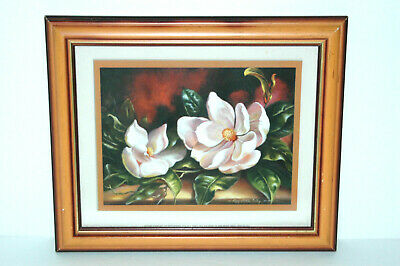$24.99 • Buy Framed & Mounted Magnolia Reproduction Print By Peggy Thatch Sibley
