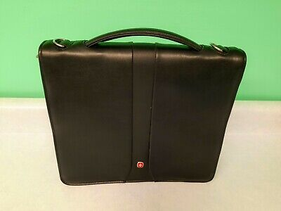 Swiss Army Wenger  Zipper Notebook Double Slimcase  EC Used • 8.61£