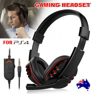 AU17.85 • Buy  Gaming Headset Wired Headphones With Mic Fit For Xbox One PS4 Nintendo Switch