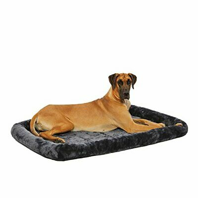 AU53.80 • Buy MidWest Homes For Pets 54L-Inch Gray Dog Bed Or Cat Bed W/ Comfortable Bolste...
