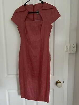 AU10 • Buy ASOS Red Business Dress Size 10 BNWT