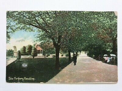 The Forbury, Reading, Berkshire, Old Postcard  • 2.50£