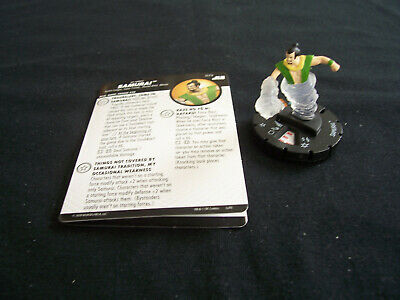 £45 • Buy DC Heroclix Justice League Unlimited JLU - SAMURAI #073 Chaser Chase Rare