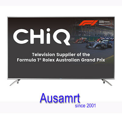 AU799 • Buy Chiq 70 Inch Netflix Smart 4K TV With HDR Technology | Postage $50 Within Melb.