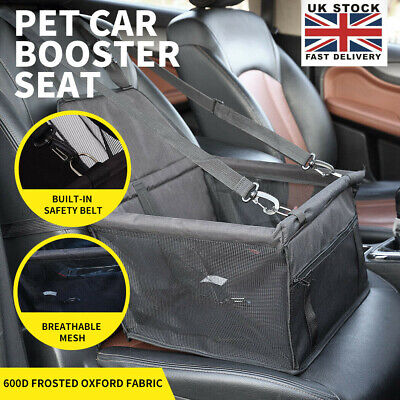 £13.99 • Buy 2 In 1 Dog Booster Car Seat Cover Waterproof Pet Carrier Protector Black 30L
