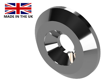 £1.50 • Buy Countersink Washer, Standoff-Spacer, Stainless Steel (CSK)