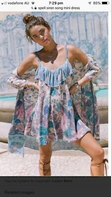 AU140 • Buy Spell And The Gypsy Siren Song Strappy Mini Nwt Size XL