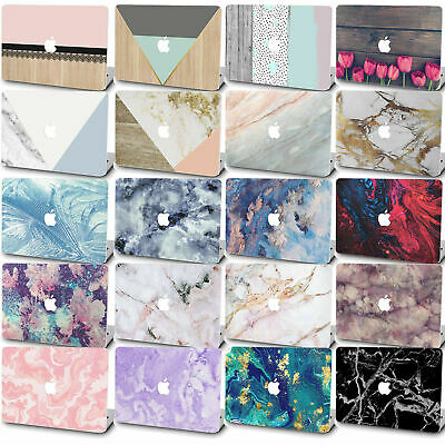$14.75 • Buy Marble Painted Rubberized Hard Cut Out Case Cover For Macbook Pro Air 13  15  16