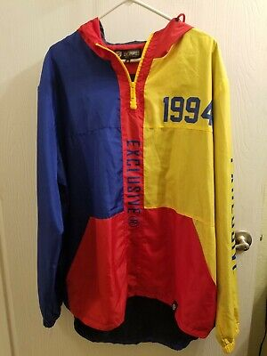 $30 • Buy Encrypted Supply Company Mens EXCLUSIVE 1994 Hoodie Jacket 3XL