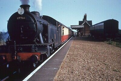 Transport Railway Colour Rail Slide 67704 Hopton On Sea 1957 • 1.20£