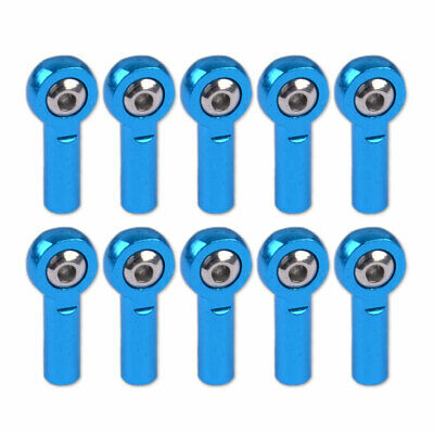 £6.99 • Buy 10x Metal M3 Link Rod End Ball Joints Fit For 1/10 RC Car Truck Buggy Crawler Le