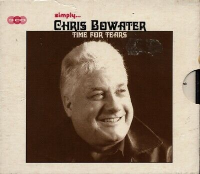 £29.99 • Buy Simply Chris Bowater: Time For Tears 3 X CD