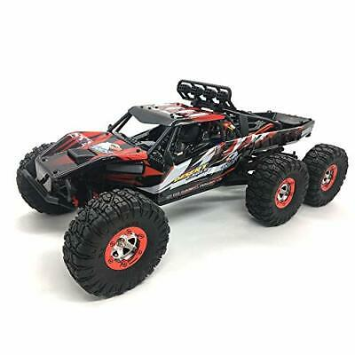 AU830.18 • Buy 1:12 Scale Large RC Cars Truck 60+kmh High Speed For Adults And Kids,6x6 Red