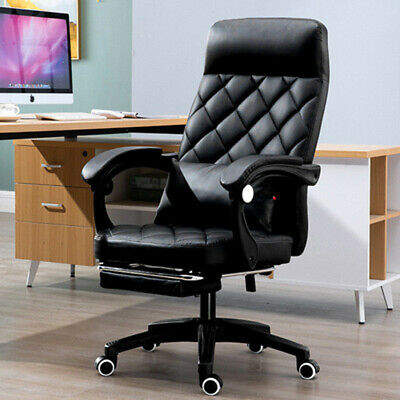 AU129.66 • Buy Executive Luxury Office Chair Gaming Desk Chair Ergonomic Swivel Protector Seat