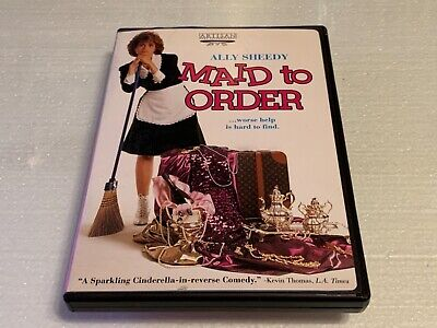 $9 • Buy Maid To Order (DVD, 2002) Ally Sheedy RARE OOP Beverly D'Angelo Romantic Comedy