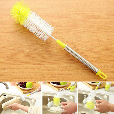 £3.79 • Buy Bottle Cleaning Brush Kitchen Brew Long Handle Scrubbing Clean Tool 32.5cm