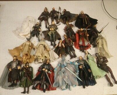 £39.99 • Buy Lord Of The Rings 22 Action Figure Bundle Gandalf Frodo Aragorn Legolas Theoden