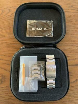 £235.40 • Buy Unimatic  Modello Uno Series Buckle Made Of Sturdy Stainless Steel