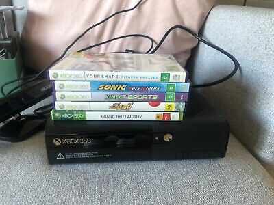 AU60 • Buy Xbox 360 With Kinect, One Controller And Games