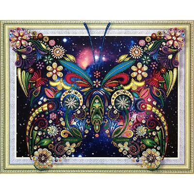 AU3 • Buy 5D DIY Special-shaped Diamond Painting Butterfly Cross Stitch Embroidery @T