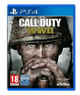 Call Of Duty WWII PS4 Video Game Fast Delivery! • 9.99£