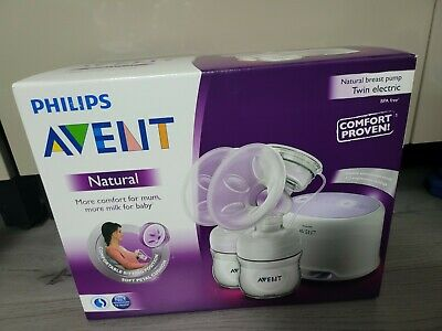 AU269.17 • Buy PHILIPS AVENT Natural Twin Electric Breast Pump