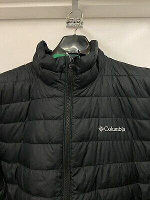 $49.99 • Buy NEW!  Mens MEDIUM Columbia Puffer Thermal Coil Insulated Black Jacket