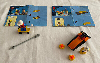 £12.99 • Buy Lego Xtreme Skateboard (6731) And Speedboat 6733 Incomplete