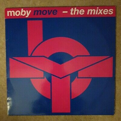 £2.95 • Buy Moby Move - The Mixes 12  Vinyl 1993 Mute – L12MUTE 158 Oldskool Rave Record