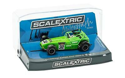 £34.99 • Buy Scalextric - C3871AE Caterham Superlight R300-S Green Lee Wiggins - New & Boxed