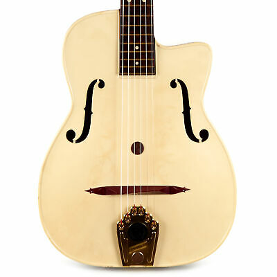 $899 • Buy Vintage Maccaferri G40 Deluxe Plastic Dow Styron Archtop Acoustic 1950's