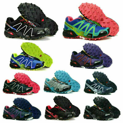 £33.99 • Buy Mens Salomon Speedcross 3 Running Shoes Trainers Non-slip Sport Offroad Sneakers