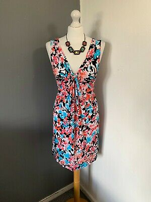 AU41.13 • Buy Women's Size 20 M&S Pretty Floral Summer Stretchy Sleeveless Empire Dress