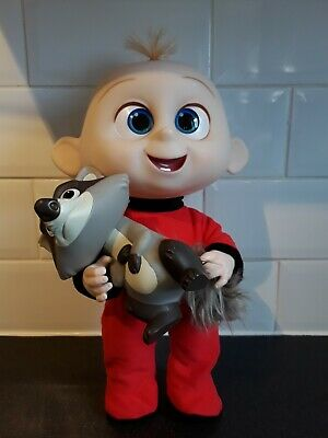 £12.99 • Buy Baby Jack Jack Disney Incredibles Talking Light Up Toy With Racoon