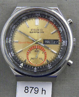 $ CDN101.57 • Buy Vintage Seiko Chronograph 6139-7060 5 Sports Speed-Timer Stainless Steel, No Res