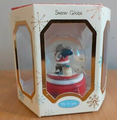 £14.95 • Buy Me To You Christmas Santa Outfit Snow Globe Approx 9cm