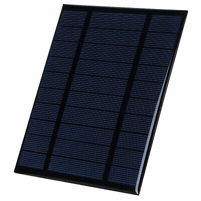 AU24.49 • Buy 2.5W 5V Solar Panel Polycrystalline Silicon Solar Charger Board For Fountain